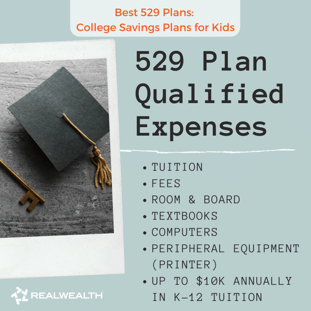 Image Highlighting 529 Plan Qualified Expenses
