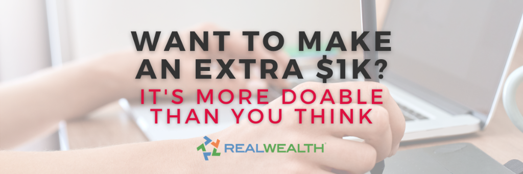 Featured Image for Article - How to Make an Extra $1000 a Month