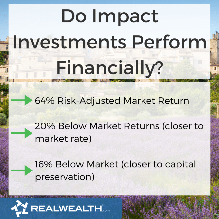 Infographic Highlighting - Do Impact Investments Perform Financially