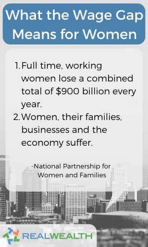 What the Wage Gap Means for Women